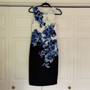 Anthropologie Maeve floral Sheath Dress size 4